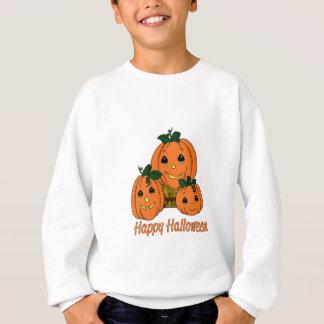 Happy Halloween Pumpkin Triplets Sweatshirt