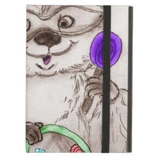 Happy Halloween Raccoon Cover For iPad Air