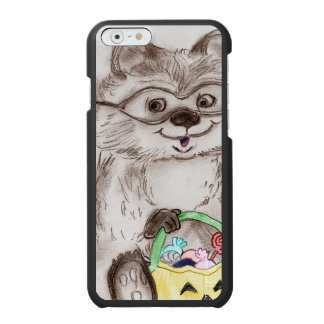 Happy Halloween Raccoon Incipio Watson™ iPhone 6 Wallet Case