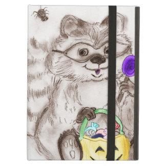 Happy Halloween Raccoon iPad Air Case
