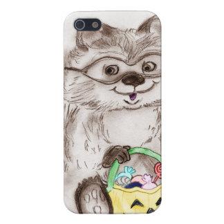 Happy Halloween Raccoon iPhone 5/5S Cover