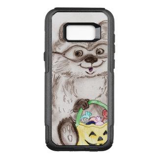 Happy Halloween Raccoon OtterBox Commuter Samsung Galaxy S8+ Case