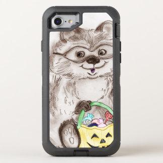 Happy Halloween Raccoon OtterBox Defender iPhone 7 Case