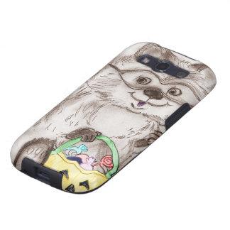 Happy Halloween Raccoon Samsung Galaxy SIII Cases