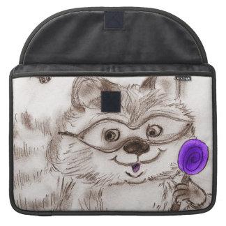 Happy Halloween Raccoon Sleeve For MacBook Pro