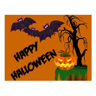 Happy Halloween Recipe Card