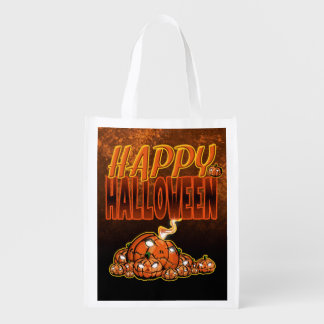 Happy Halloween Reusable Grocery Bag