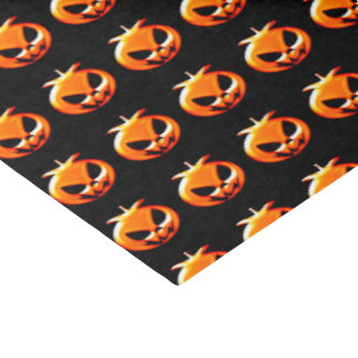 Happy Halloween Scary & Cute Pumpkins Tissue Paper