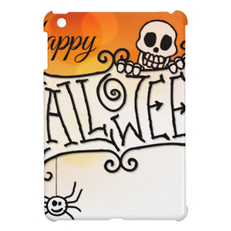 Happy Halloween Sign Background iPad Mini Case