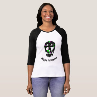 Happy Halloween skull T-Shirt