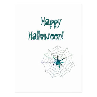 Happy Halloween Spider! Postcard