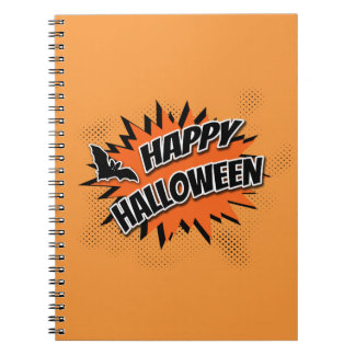 Happy Halloween Spiral Notebook