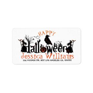 Happy Halloween Spooky Concept Design