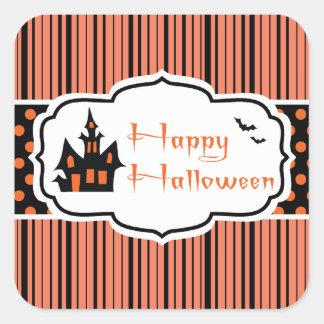 Happy Halloween Square Sticker