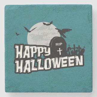 Happy Halloween Stone Coaster