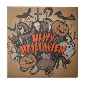 Happy Halloween! Tile