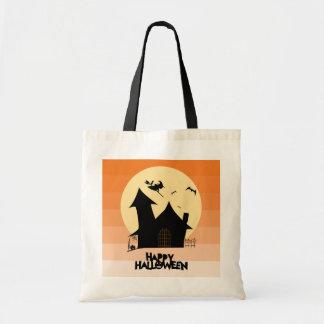 """Happy Halloween"" Tote Bag"
