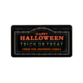 Happy Halloween - Trick or Treat Black Label