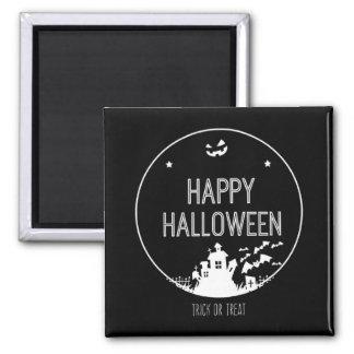 Happy Halloween Trick Or Treat Magnet