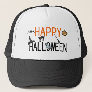 Happy Halloween Trucker Hat