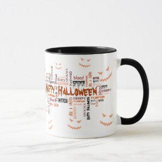 Happy Halloween Typography - Mug