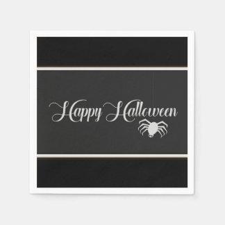 Happy Halloween Typography Paper Napkins