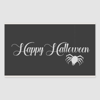Happy Halloween Typography Sticker