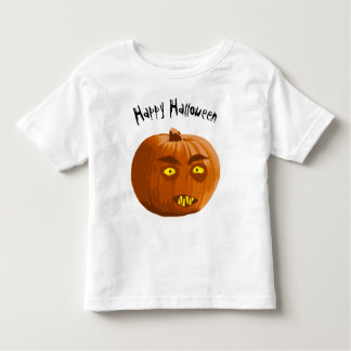 Happy Halloween Vampire Pumpkin Toddler T-shirt