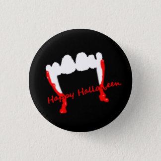 Happy Halloween Vampires! 1 Inch Round Button