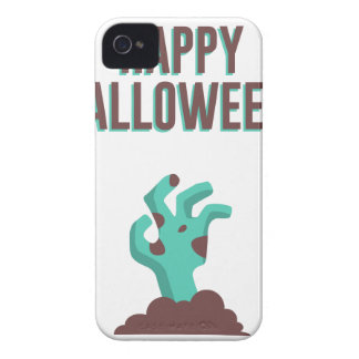 Happy Halloween Walking Dead Zombie Corpse Design iPhone 4 Case