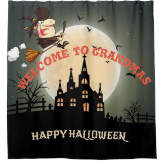 Happy Halloween Welcome To Grandmas