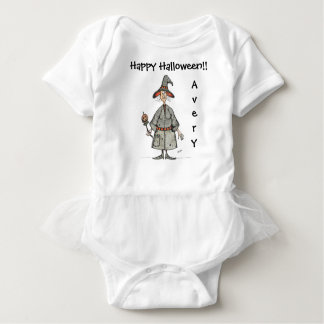 Happy Halloween Witch Baby Tutu Bodysuit