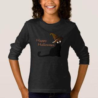 Happy Halloween Witch Cat - T-shirt
