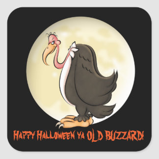 Happy Halloween ya old buzzard sticker