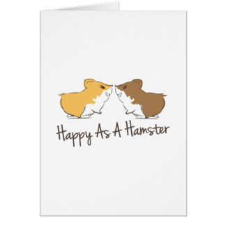 Happy Hamster Card