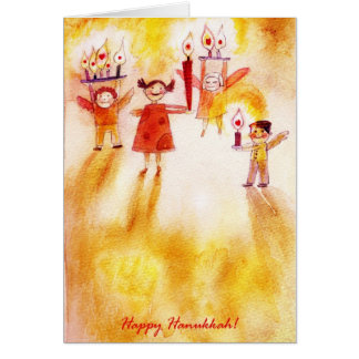 happy hannukah! card
