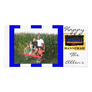 Happy Hannukah photo card