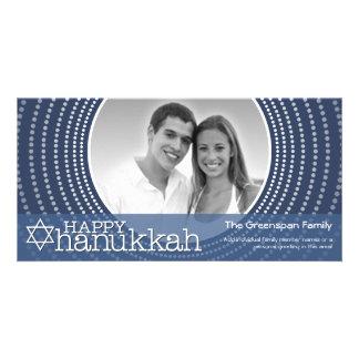 Happy Hanukkah  - 1 photo Card
