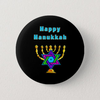 Happy Hanukkah 2 Inch Round Button