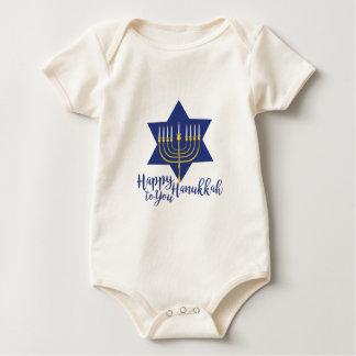 Happy Hanukkah Baby Bodysuit