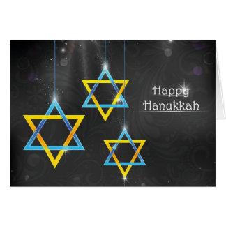 Happy Hanukkah background Card