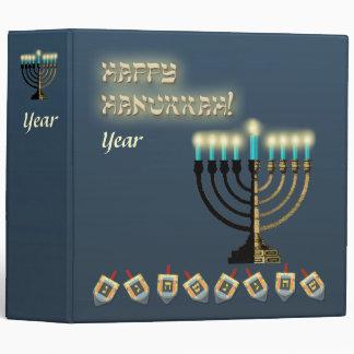 Happy Hanukkah Binder
