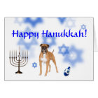Happy Hanukkah Boxer Card
