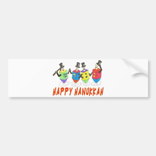 HAPPY HANUKKAH Bumper Sticker