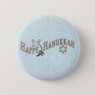 Happy Hanukkah Button