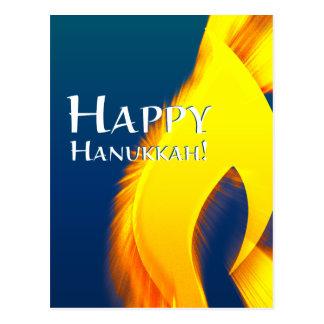 happy hanukkah (candleShine) Postcard