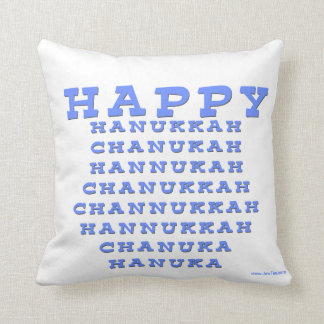 HAPPY HANUKKAH CHANUKAH HANUKKAH PILLOW