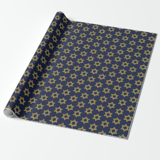 Happy Hanukkah Chanukah Holiday Wrapping Paper