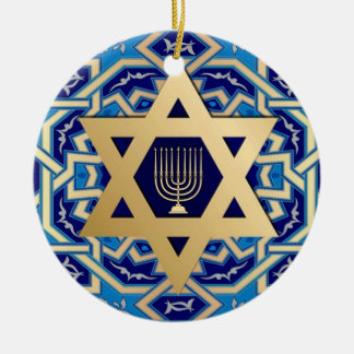 Happy Hanukkah! Custom Year Ornaments
