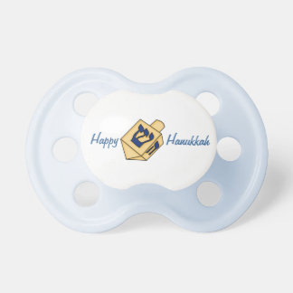 Happy Hanukkah-Cute Dreidel Pacifier